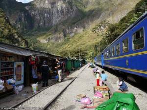 Pérou : le train pour Aguas Calientes et Machu Picchu