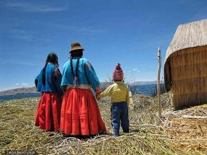 Pérou : l'île d'Uros sur le Lac Titicaca