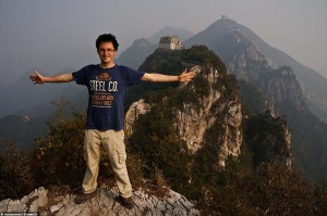 Interview voyageur : Anthony et son tour du monde en solitaire - La Grande Muraille de Chine