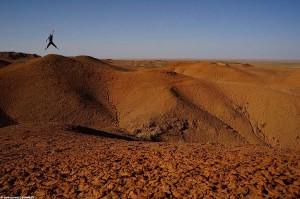 interview voyageur : Anthony et son tour du monde en solitaire - Le Désert de Gobi en Mongolie