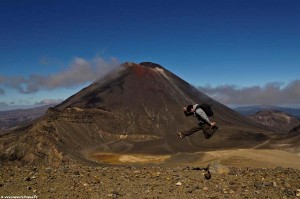 Interview voyageur : Anthony et son tour du monde en solitaire - Trek Tongariro Crossing en Nouvelle-Zélande