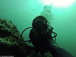 interview voyageur : Anthony et son tour du monde en solitaire - Plongée à El Nido aux Philippines