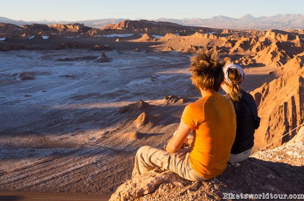 Les Bikets dans le désert de San Pedro de Atacama, Chili