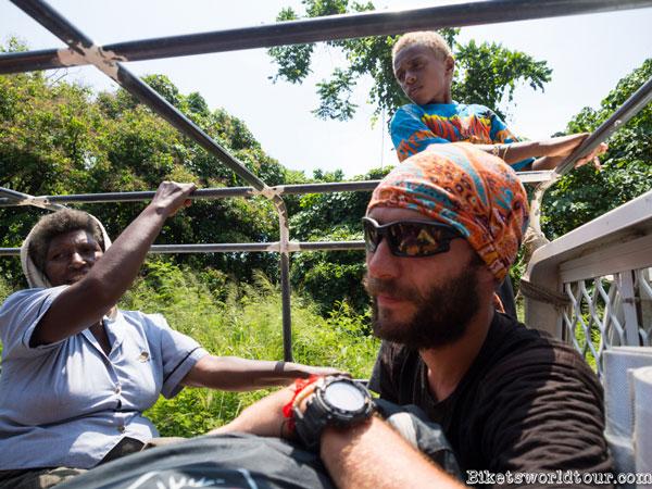Les Bikets en stop au Vanuatu