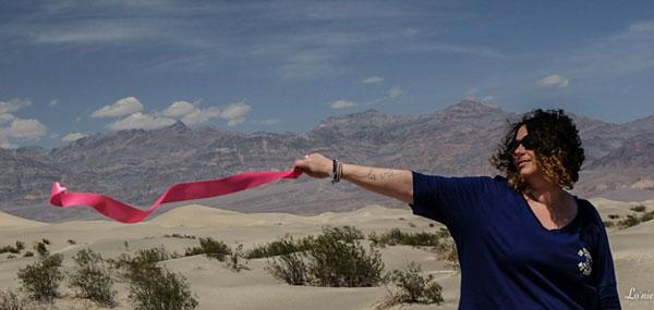 Virginie et le Ruban Rose au Grand Canyon (Etats-Unis)