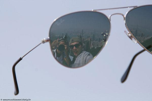 Jeffrey et Fabien à Hong Kong