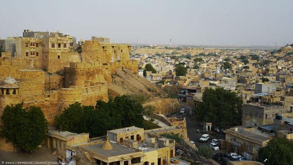 La ville de Jaisalmer au Rajasthan (Inde)