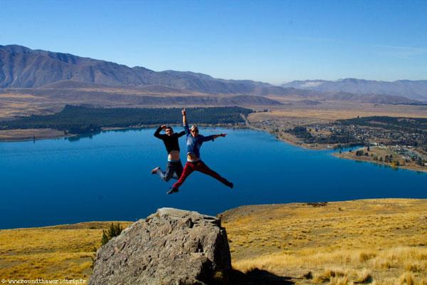 Jeffrey et Fabien en Nouvelle-Zélande