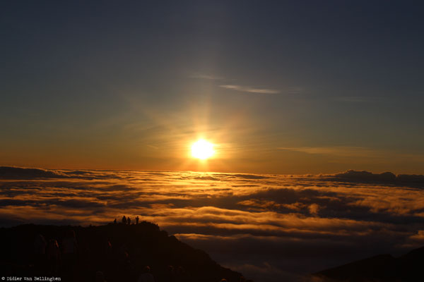 Le Volcan Haleakala sur l'île de Maui, Hawaii (USA)