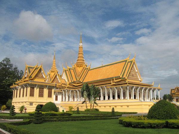 Le Palais Royal de Phnom Penh (Cambodge)