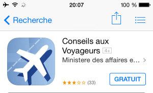 Application mobile pour voyager : Conseil aux Voyageurs
