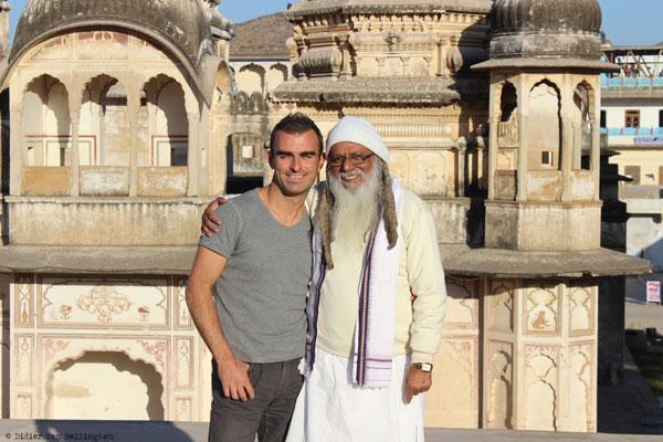 Didier à Pushkar, au Rajasthan (Inde)