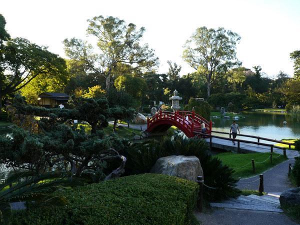 Jardin japonais de Buenos Aires (Argentine)