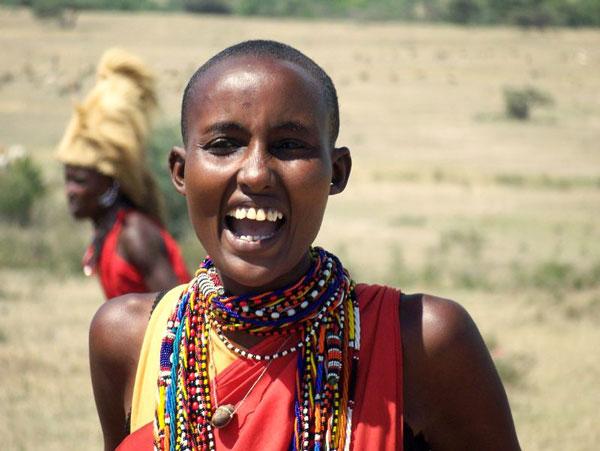 Kenya - Femme Massaï