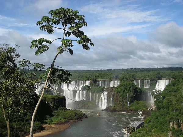 Les Chutes d'Iguaçu au Brésil