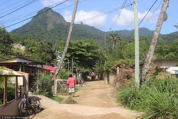 Vila do Abraoo à Ilha Grande, Brésil