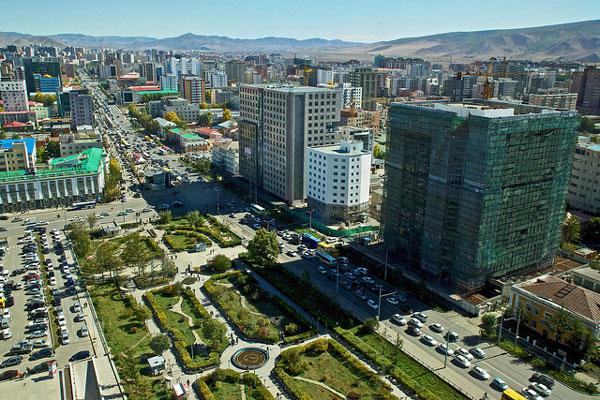 Oulan-Bator, capitale de la Mongolie