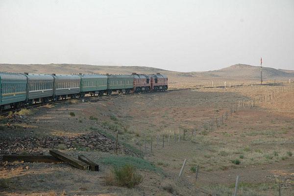 Le Transmongolien, Mongolie