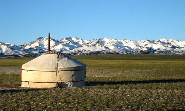 Yourte en Mongolie