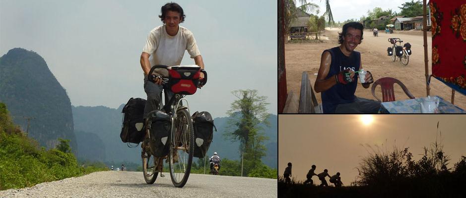 Interview voyageur : le voyage à vélo de Florent et son escale humanitaire