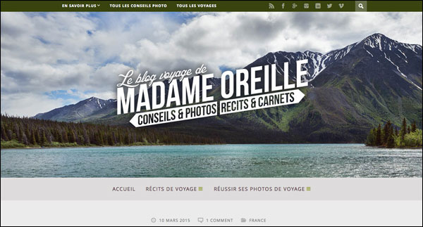 Blog Madame Oreille