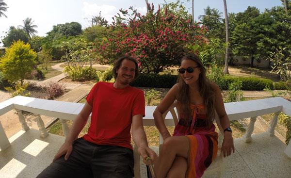 Marjorie & Bastien du blog chronomundi.fr sur l'île de Koh Samui, Thaïlande