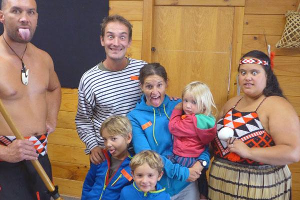 Interview voyageurs : faire un tour du monde avec des enfants en bas âge - Toute la famille en Nouvelle-Zélande