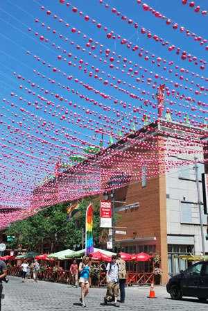 Le quartier gay du Village, Montréal