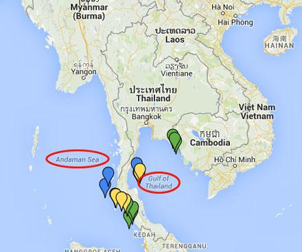 Quelle île choisir en Thaïlande en fonction de la météo ?