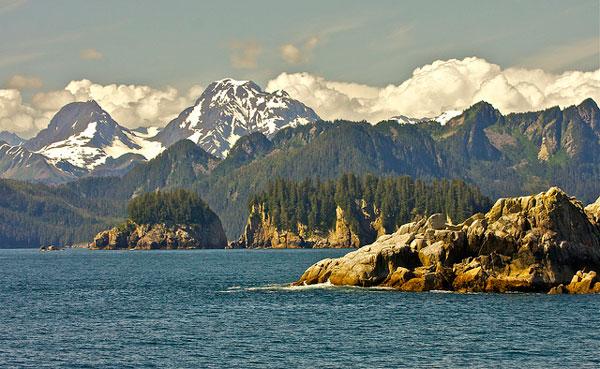 Le Kenai Fjords National Park en Alaska