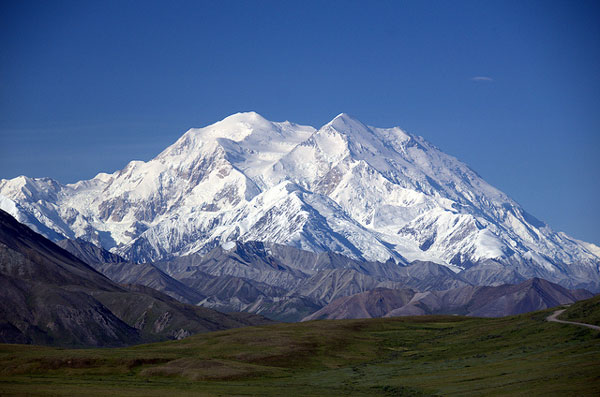 Le Mont McKinley dans le Denali National Park, en Alaska
