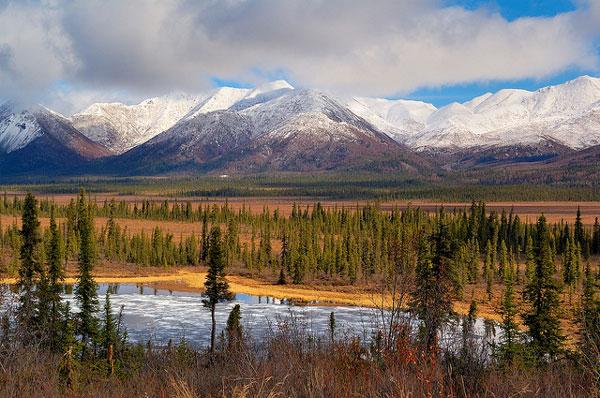 Le Wrangell-St.Elias National Park, Alaska