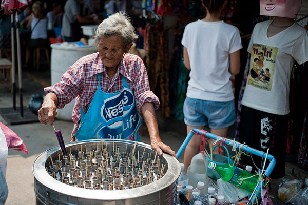 Le marché de Chatuchak, Bangkok