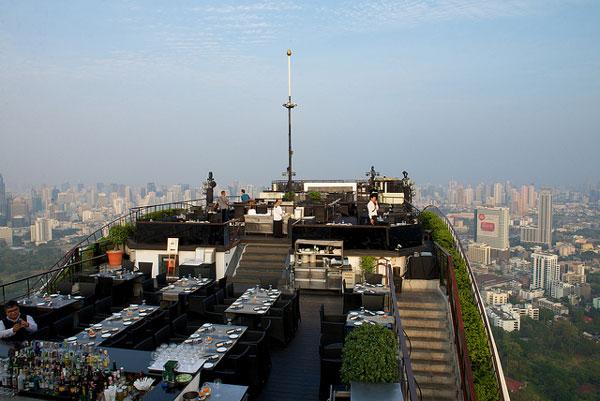"""Le Sky Bar """"Vertigo"""", Bangkok"""