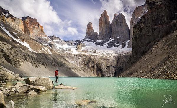 """Les """"Torres"""" du Parc national Torres del Paine, au Chili"""