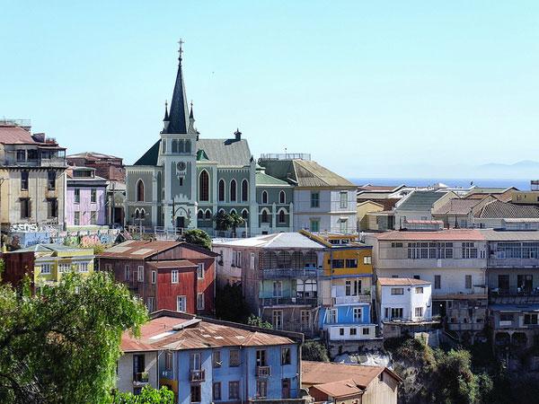 La belle Valparaiso, au Chili