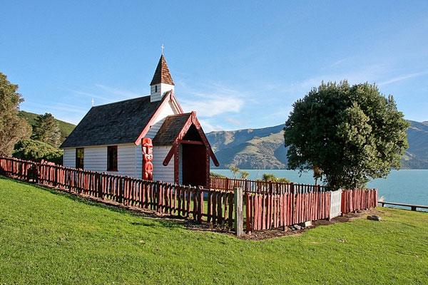 Akaroa, le village français (Nouvelle-Zélande)