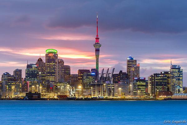 Skyline d'Auckland (Nouvelle-Zélande)