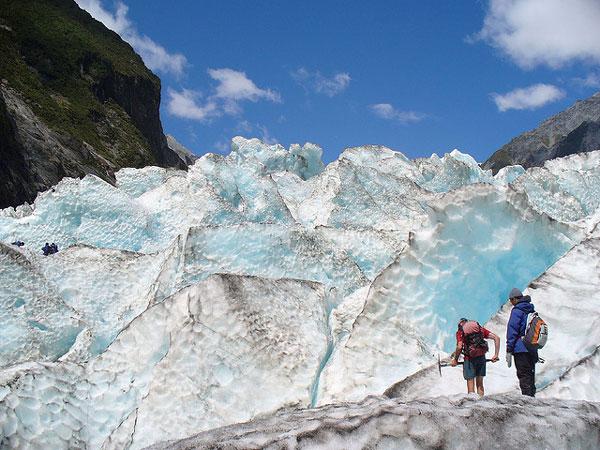 Le Glacier Franz Josef (Nouvelle-Zélande)