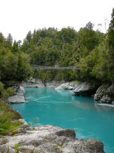 Les Gorges d'Hokitika (Nouvelle-Zélande)