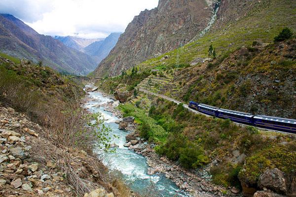 En route vers le Machu Picchu, sur le Chemin de l'Inca (Inca Trail), au Pérou