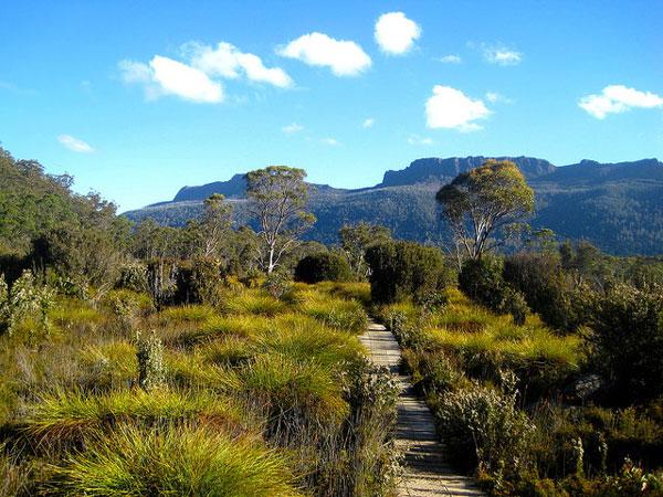 L'Overland Track en Tasmanie, Australie
