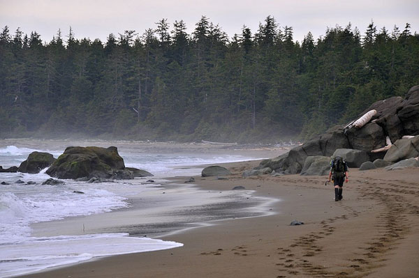 Plage du West Coast Trail, Canada