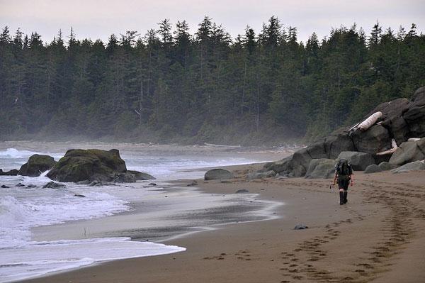 Plage du West Coast Trail, Canada