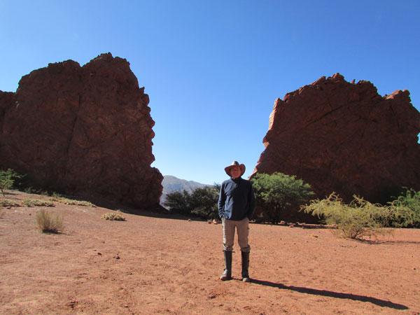 Patrick à Tupiza, en Bolivie
