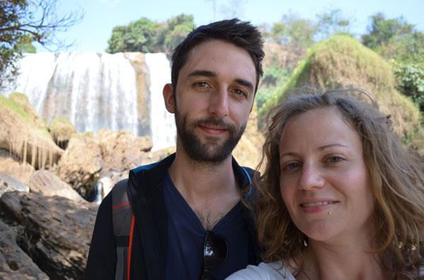 Johanna et Romain au Vietnam, au début de leur tour du monde