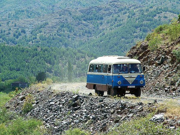 Voyage en bus en Albanie