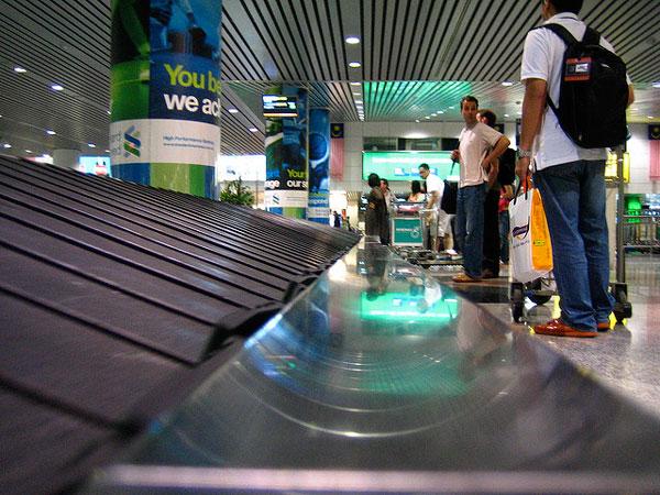Perdre ses bagages à l'aéroport