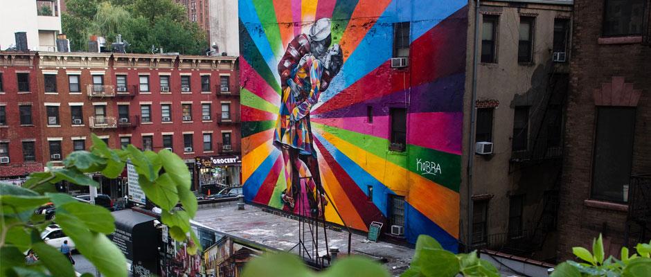 Le street art autour du monde