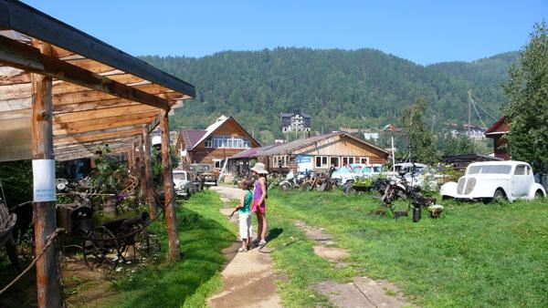 Maerema et Balthazar à Listvianka, Russie